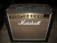 Marshall, Artist4203. 30 watt two channel tube amp with