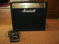 For sale Marshall mg100dfx, this is a 100 watt solid
