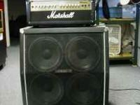 Marshall amp and speaker MG100HDFX $480 DealMaker Pawn