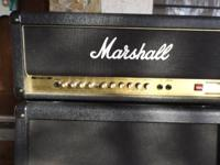 Marshall AVT 50 H and MG412A Cabinet for sale by