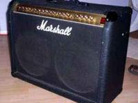 Im Selling my Marshall two 12 Combo amp. It has great