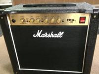Im selling my Marshal DSL 5C tube amp. It was made use