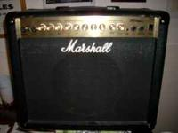 """AS NEW"" Marshall Guitar Amplifier Model MG30DFX USED"