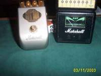 for sale guitar pedal Marshall GV guv,nor plus. vintage