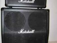 Marshall MG 100 HDFX HALF STACK..... bought new