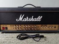 Marshall JCM 2000 TSL 100 Watt Guitar Amplifier.