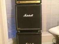 Killer sounding Marshall JCM 900 100w head complete