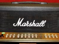 100W of pure, all-tube Marshall noise at a
