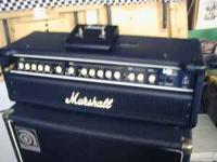 Up for sale is my used Marshall MB450H bass amp head.