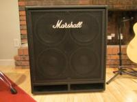 Marshall MBC 410 Bass Cabinet for sale. Cabinet is like