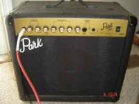 Park g25R in good condition, 10inch speaker 2 channel