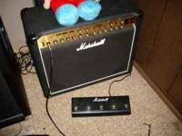 HERES A MARSHALL TSL 60 1X12 ALL TUBE 60 WATT 3 CHANNEL