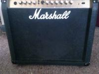 I am offering my Marshall practice amp. noises great,