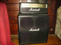 Marshall MG series ..100w head with (2) 4x12 cabs one