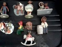 Martha Holcombe handmade figurines. $10 per figure.
