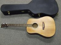 martin guitar d-1 L left handed guitar excellent shape