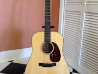 Type:GuitarsType:StringsMartin Acoustic Guitar, D-18,