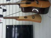 "Martin acoustic guitar with soft case. ""The BackPacker"""