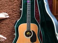 Looking to sell my Martin D-35 dreadnought. Sitka