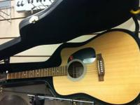 Martin DC-1E Acoustic-Electric Guitar with new custom