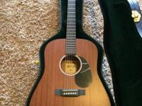 I have for sale a mint Martin guitar. The guitar is