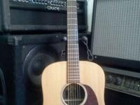 martin dx1 acoustic guitar spruce top for info call