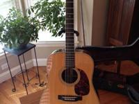2008 Martin HD28V Serial # 1188713 This guitar has a