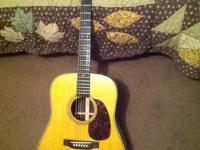 Martin HD28V Acoustic Guitar for sale. I believe its