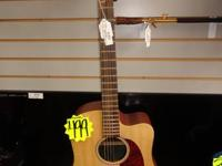 The Martin DCX1E is an excellent cutaway guitar with