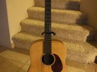 For sale: Martin DX1 dreadnought guitar. HPL back and