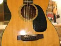 Late 80's 0-18 Martin Guitar. Sounds great excellent