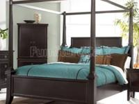 What is up for sale is a Martini Suite Canopy Bed By