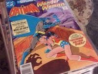 Most in very good condition there is batman brave and
