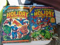 Rare marvel giant size holiday grab bag comics 1974 and