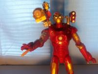 MARVEL IRON MAN REPULSOR POWER FROM THE MOVIE 2007