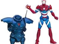 This Heroic Age Iron Patriot figure is more than an
