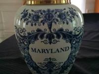 Antique? Selling an old Maryland Tobacco Jar Delft made