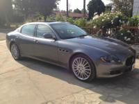 Model OverviewLoaded 2011 Maserati in great shape. Low