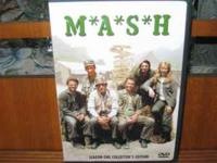 A 3 DVD Season One Collectors Edition of MASH.Viewed