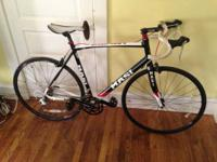 I'm selling my Masi Partenza road bike because I don't