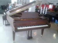 "1975 MASON & HAMLIN Grand ""A""... (5'8""). Satin Walnut,"