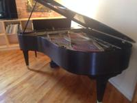 Mason & Hamlin Grand with Bench. Excellent condition.