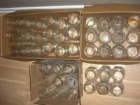 I am selling 50 mixed mason jars (ball, kerr, mason,
