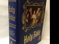 This is a very large Masonic Bible, as new, has many