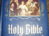 This Bible can be seen at: All the Comforts of Home 401