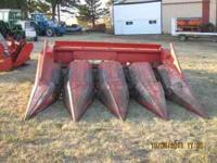 Have 2 MF 43 corn heads, decent shape, tin is straight,