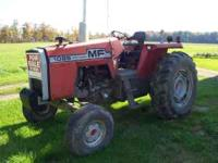 1976 Massey 1085 tractor. This is a low hour tractor at