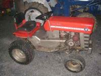 Nice condition, snow blower and deck included. Tractor