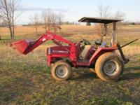 Massey Ferguson 1250 (REDUCED), 30hp, front end loader,