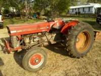 Up for sale is a Massey Ferguson 135 tractor. Has been